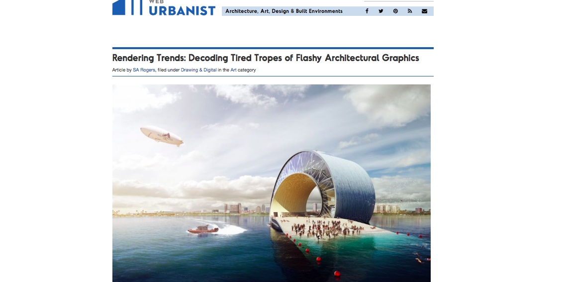 Article: Rendering Trends - Decoding Tired Tropes in Flashy Architectural Graphics